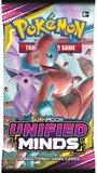 Pokémon Sun & Moon Unified Minds - Booster Pack (10 kaarten)_