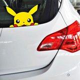 Pikachu Auto Sticker (19x11cm)_