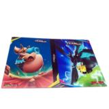 Pikachu & Zekrom verzamelmap met Eevee & Snorlax_
