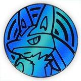 Pokemon Lucario Collectible Coin (Blue)_