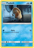 Psyduck - 7/18 - Holo - Detective Pikachu Series_