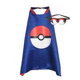 Pokémon Superhelden Outfit (Cape + Masker)_