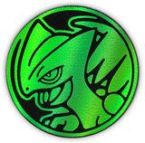 Pokemon Sceptile Collectible Coin (Green Rainbow Mirror Holofoil)_