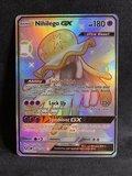 Nihilego [SHINY GX] Full Art Ultra Rare Pokemon Kaart_