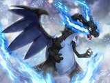 MEGA Charizard - Pokémon Knuffel met zuignap 32cm_