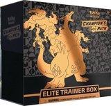 Nieuw: Sword & Shield Champion's Path Elite Trainer Box inclusief Charizard V Full Art_
