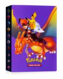 Charizard, Ash en Pikachu verzamelmap_