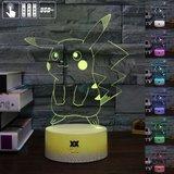 Pokémon Sfeerlamp in Pikachu of Mewtwo uitvoering_