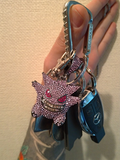 Gengar Iced Out Kids Hanger (inclusief ketting)_