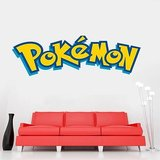 Pokémon XL Muursticker (90x30cm)_