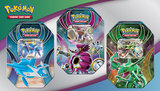 Nieuw Pokemon Bewaarblik inclusief V kaart_