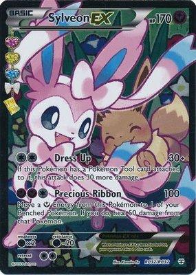 Sylveon EX // Pokémon kaart