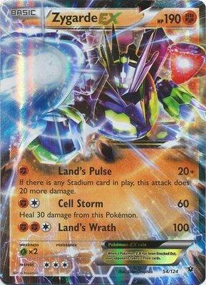 Zygarde EX / / Pokémon kaart