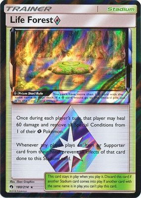 Life Forest Prism Star - 158/181 - Holo Rare