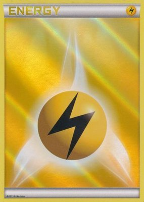 Lightning Energy Reverse Holo
