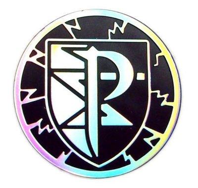 Pokemon Team Plasma Collectible Coin (Silver & Black)