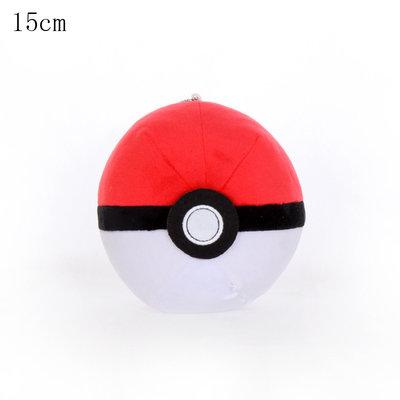 Pokeball - Pokémon Knuffel met zuignap 15cm (ophangbaar)