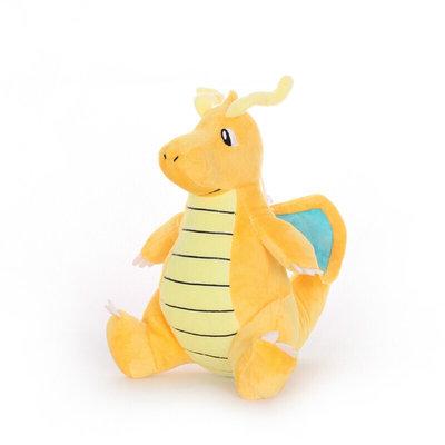Dragonite - Pokémon Knuffel met zuignap 21cm (ophangbaar)