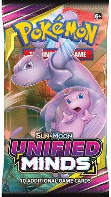 Pokémon Sun & Moon Unified Minds - Booster Pack (10 kaarten)
