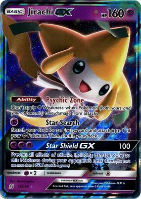 Jirachi GX // Pokémon kaart