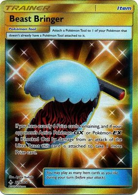 Beast Bringer (GOLD SECRET RARE) // Pokémon kaart