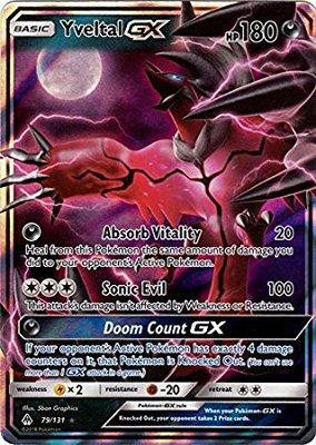 Yveltal GX // Pokémon kaart