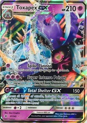 Toxapex GX // Pokémon kaart