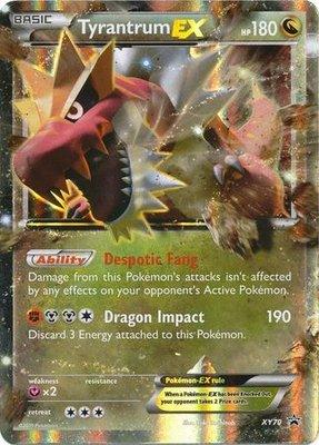 Tyrantrum EX // Pokémon kaart