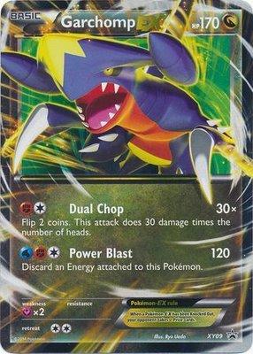 Garchomp EX // Pokémon kaart