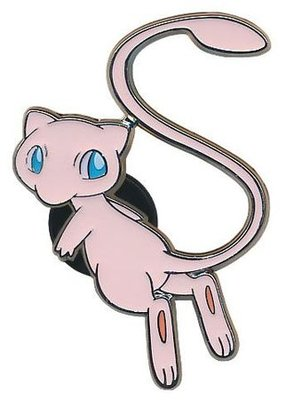 Mythical Mew 2019 Collectors Pin