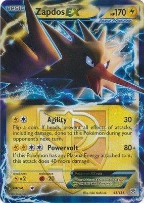 Zapdos EX // Pokémon kaart