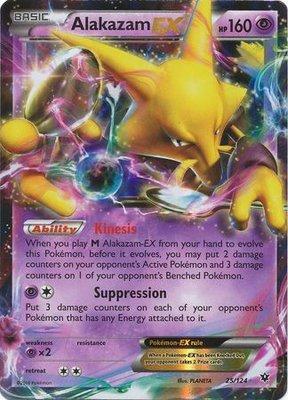 Alakazam EX // Pokémon kaart