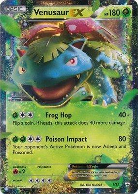 Venusaur EX // Pokémon kaart