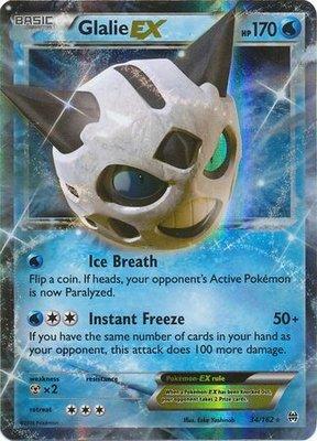 Glalie EX // Pokémon kaart