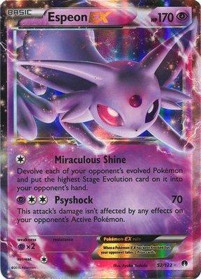 Espeon EX // Pokémon kaart