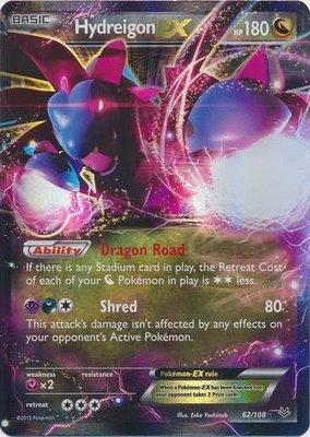 Hydreigon EX // Pokémon kaart