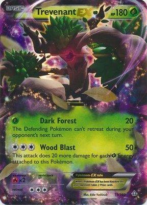 Trevenant EX // Pokémon kaart