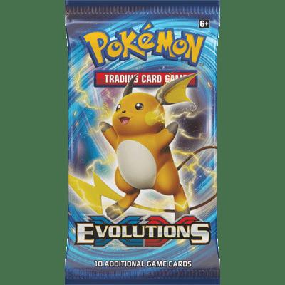 Pokémon Kaarten Evolutions Booster Pack (10 kaarten)