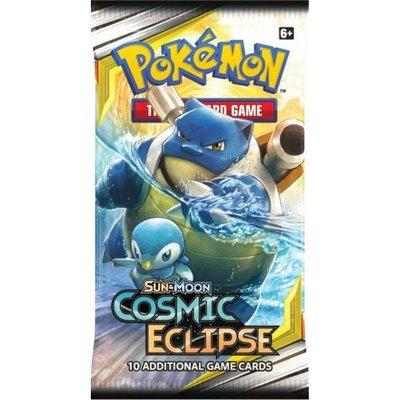 Pokémon Sun & Moon Cosmic Eclipse - Booster Pack (10 kaarten)