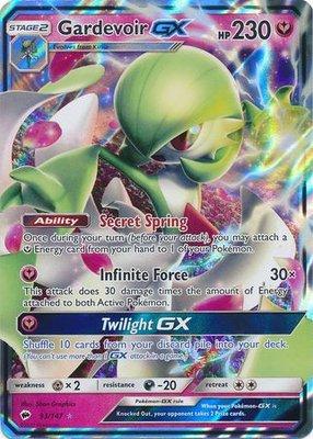 Gardevoir GX // Pokémon kaart