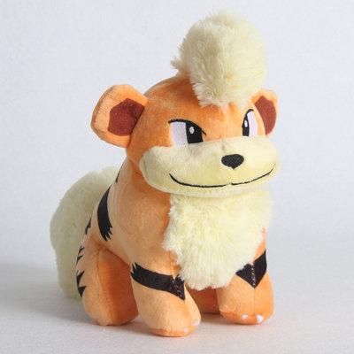 Growlithe - Pokémon Knuffel met zuignap 20cm (ophangbaar)