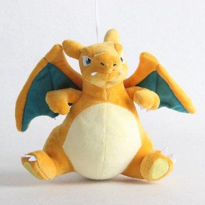 Charizard - Pokémon Knuffel met zuignap 22cm (ophangbaar)