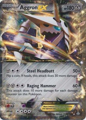 Aggron EX // Pokémon kaart
