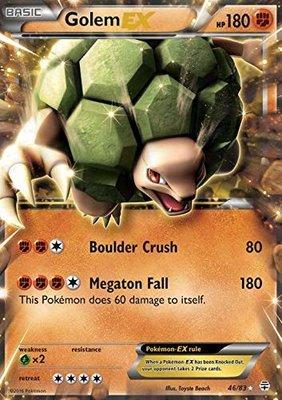 Golem EX // Pokémon kaart