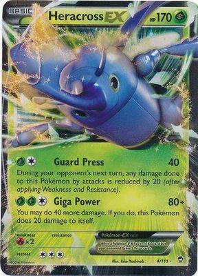 Heracross EX // Pokémon kaart
