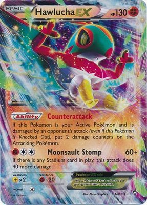 Huwlucha EX // Pokémon kaart