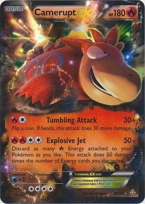 Camerupt EX // Pokémon kaart