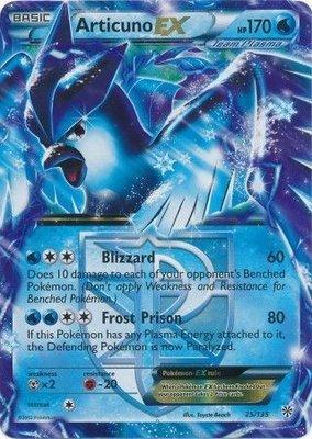 Articuno EX // Pokémon kaart