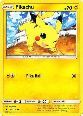 Pikachu - 54/214 - Common