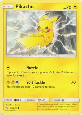 Pikachu - 66/236 - Common